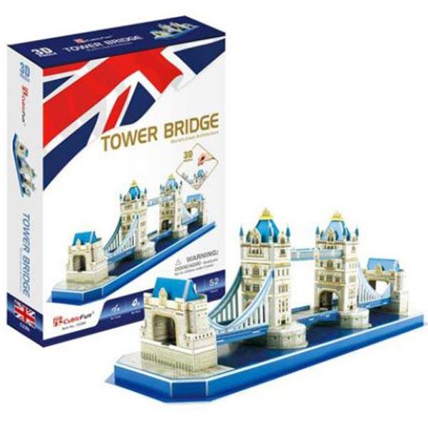 CubicFun Puzzle 3D Tower Bridge CBF209780 - ODDO igračke