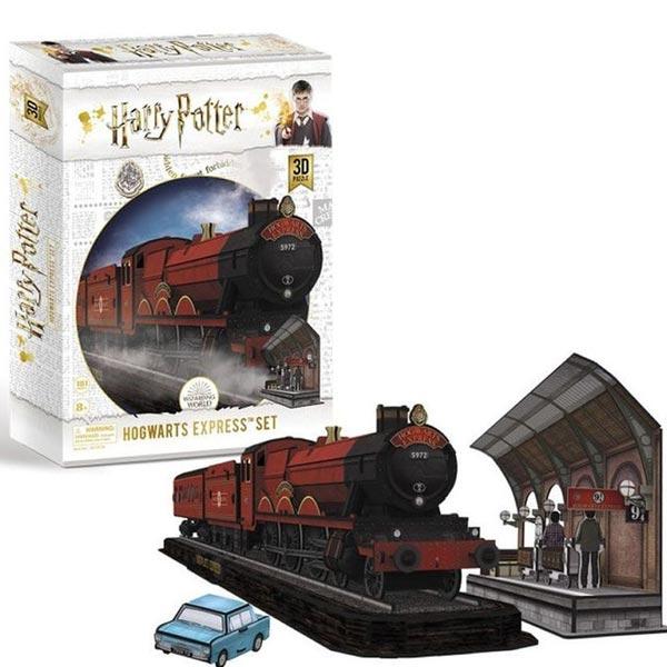 CubicFun 3D Puzzle Harry Potter Hogwarts Express Set (180pcs) CBF210106 - ODDO igračke
