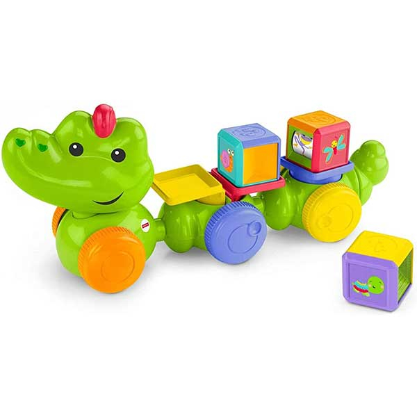 Fisher Price Edukativni Crawl Around Croc Mattel DGT90 - ODDO igračke