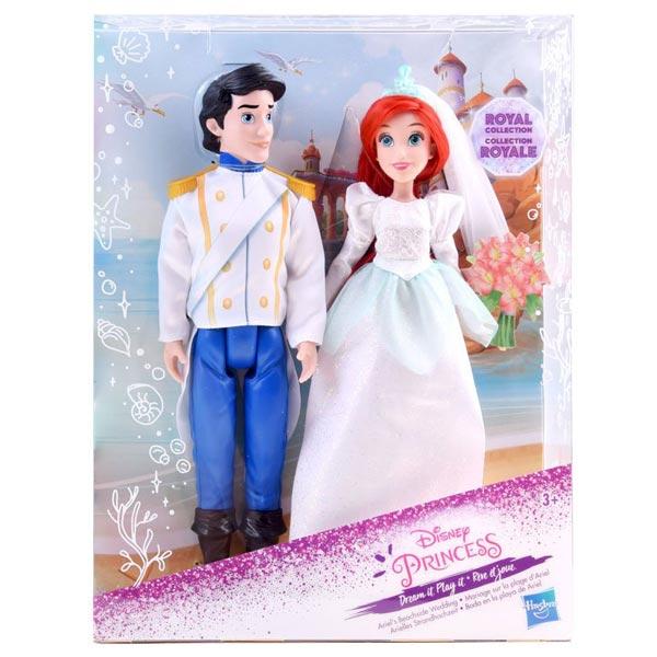 Disney Princess Royal Collection Ariels Beachside Wedding Set Hasbro E2261EU50 - ODDO igračke