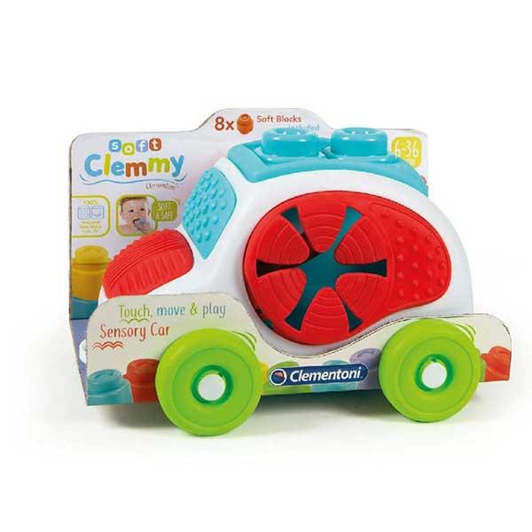 Clementoni CLEMMY auto sa kockicama CL17315 - ODDO igračke