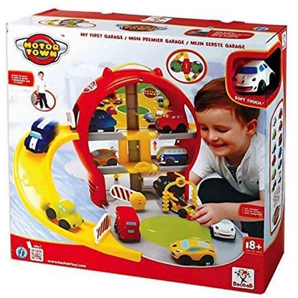 Motor Town Parking garaža u koferu sa jednim automobilom 41x41x13cm 113400 - ODDO igračke