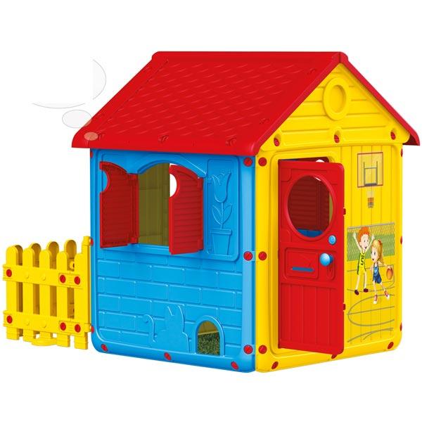 Kuća sa ogradom Dolu 030191 - ODDO igračke