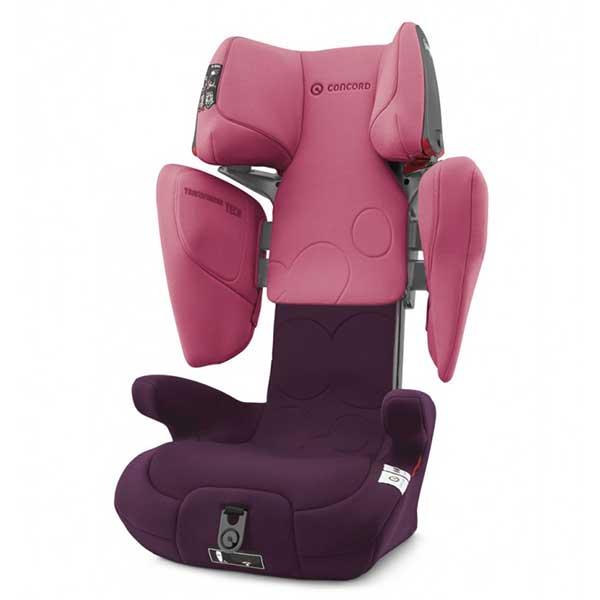 Auto sedište Concord TRANSFORMER TECH Carmin pink 7503117 - ODDO igračke