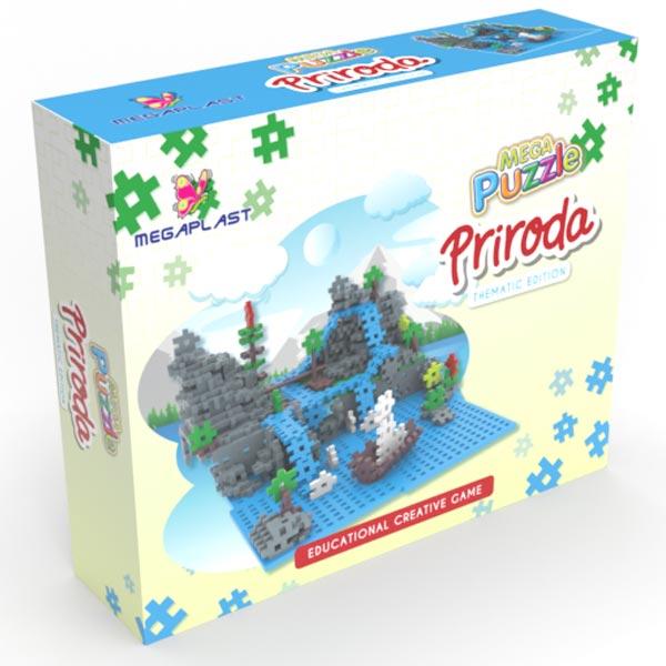 Mega puzle priroda 951589 - ODDO igračke