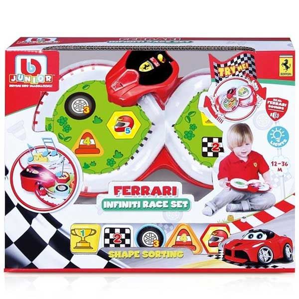 Burago junior eco drivers Ferari BU81401 - ODDO igračke