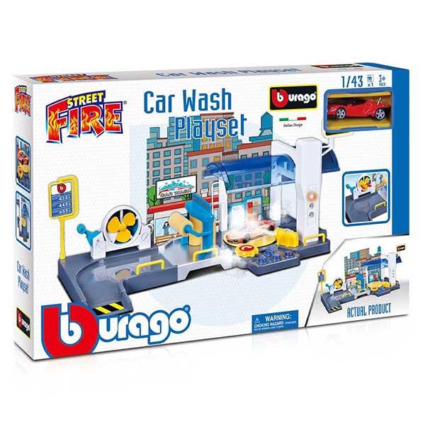 Burago street fire car perionica BU30406 - ODDO igračke