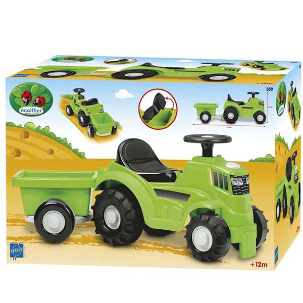 Ecoiffier traktor sa prikolicom SM000359 - ODDO igračke