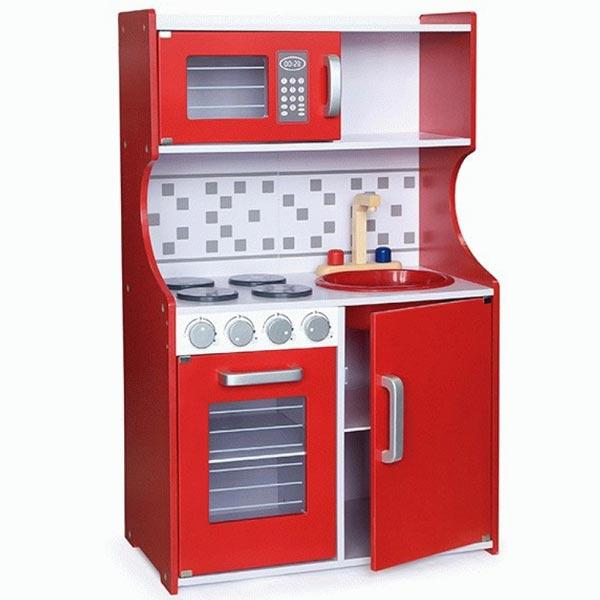 Drvena kuhinja Modern- red Viga 50379 - ODDO igračke