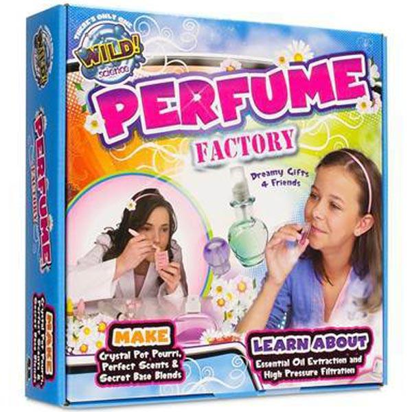 Kreativni set WILD SCIENCE Perfume Factory Set za izradu parfema 410001 - ODDO igračke