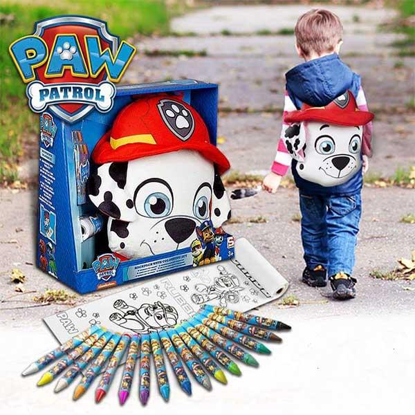 Paw Patrol - Patrolne Šape ranac i bojice 19769 - ODDO igračke