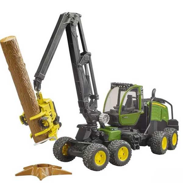 Kombajn John Deere sa kašikom za drva 021351 - ODDO igračke