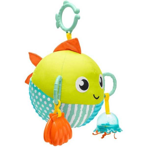 Fisher Price Sensory Fun Fish igračka za krevetac/kolica Mattel GFC36 - ODDO igračke