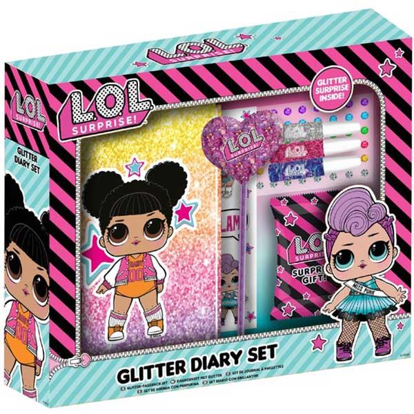 LOL Tajni dnevnik set glitter 42-0078 - ODDO igračke