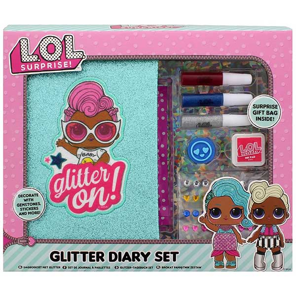 LOL Tajni dnevnik set glitter 42-0044 - ODDO igračke