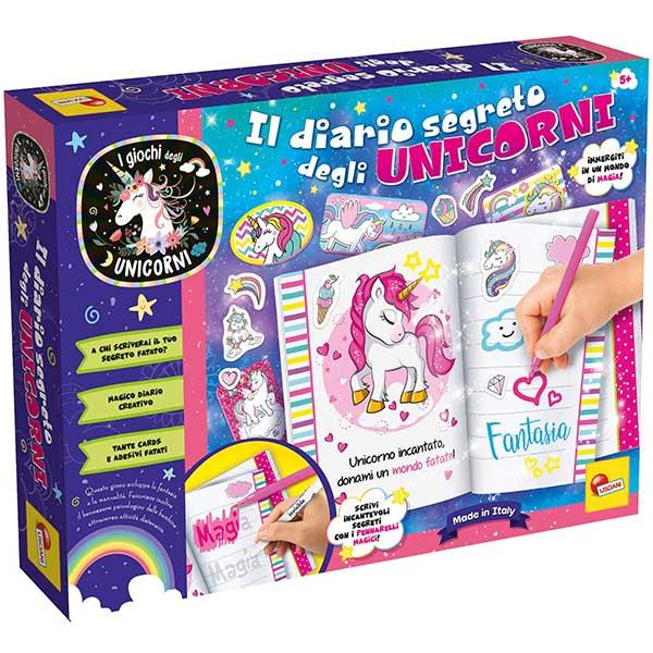 The Unicorns Set tajni dnevnik Lisciani 73641 - ODDO igračke