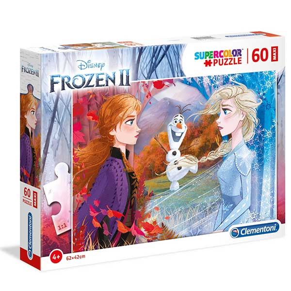 Clementoni puzzla Frozen 2 MAXI 60pcs 26452 - ODDO igračke