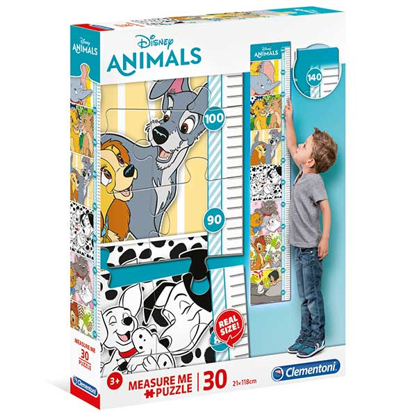 Clementoni Puzzla visinomer Disney Animals 30pcs 20335 - ODDO igračke