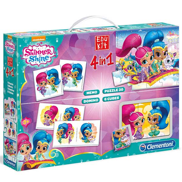 Clementoni Edu Set 4 in 1 Shimmer & Shine 18008 - ODDO igračke