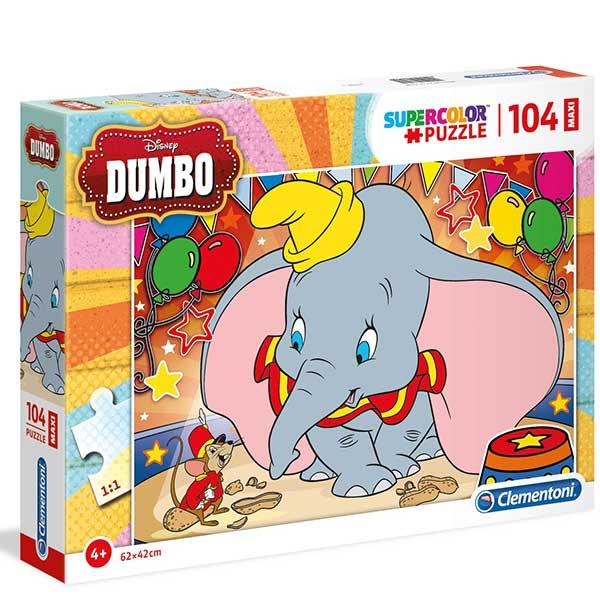 Clementoni puzzla Dumbo Maxi 104pcs 23728 - ODDO igračke