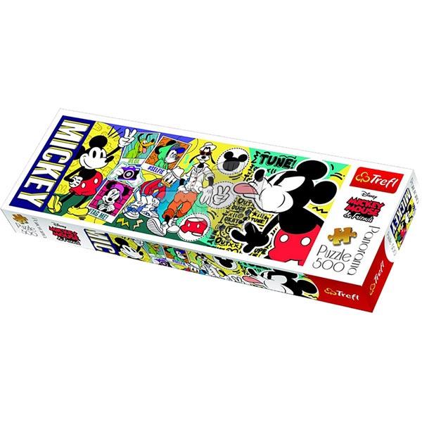 Trefl Puzzla Panorama Mickey 500pcs 29511 - ODDO igračke