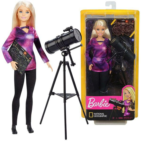 Barbie Lutka Astrophysicist National Geographic GDM47 - ODDO igračke