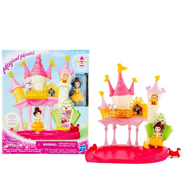 Lutka Disney Princess Belle Little Kingdom Dance N Twirl Ballroom E1632 - ODDO igračke