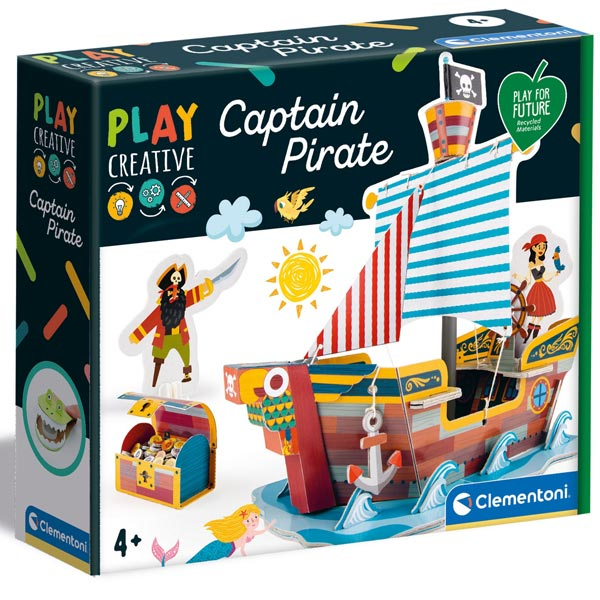 Clementoni Play Creative Captain Pirate CL18552 - ODDO igračke