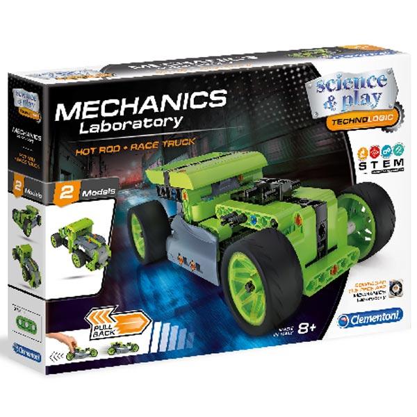 Clementoni Mechanička Laboratorija Hot Rod Pull Back CL17373 - ODDO igračke