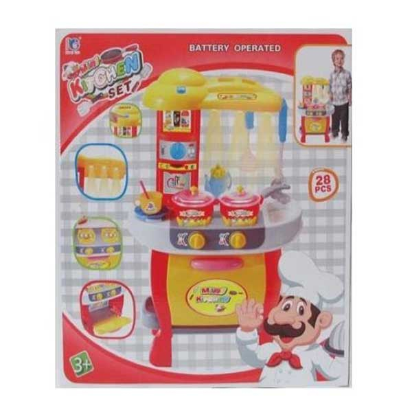 Kuhinjski set 28pcs B/O MX0186937 - ODDO igračke