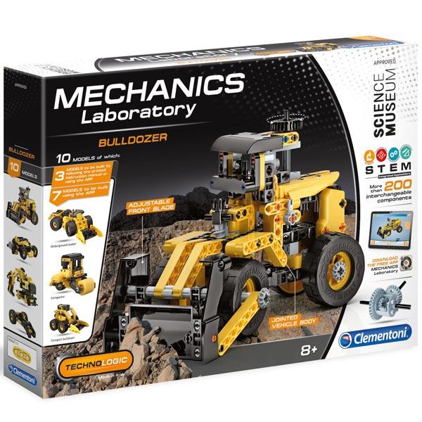 Clementoni Mechanics Lab Bulldozer Buldožer CL17374 - ODDO igračke