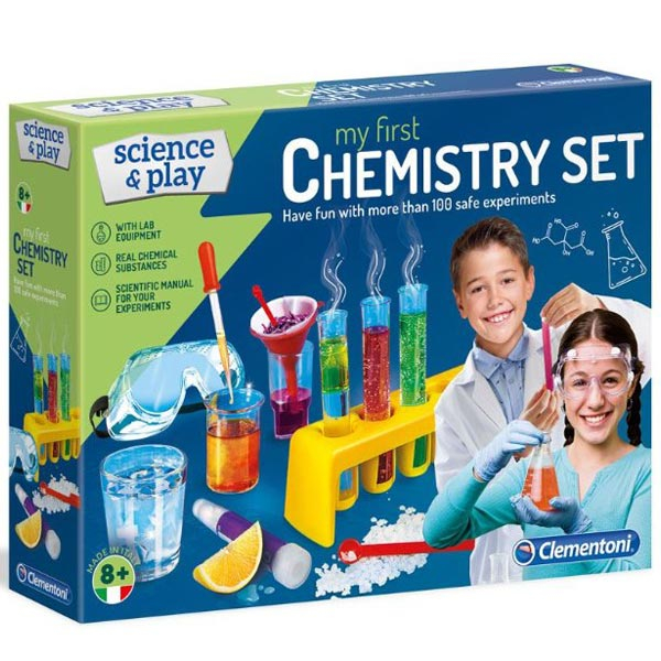 Clementoni Chemistry Set Hemijski set CL61897 - ODDO igračke