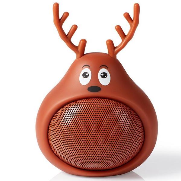 Zvučnik Nedis Rudi Irvas Bluetooth SPBT4110BN - ODDO igračke