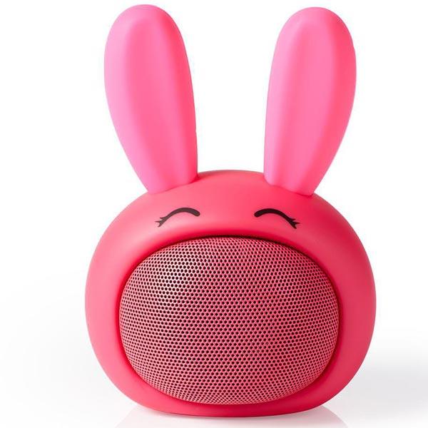 Zvučnik Nedis Robi Zec Bluetooth SPBT4110PK - ODDO igračke
