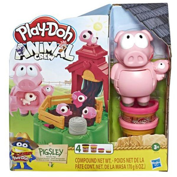 Play-Doh Pigsley Farm set E6723 - ODDO igračke