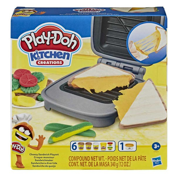 Play-Doh Cheesy Sandwich set E7623 - ODDO igračke