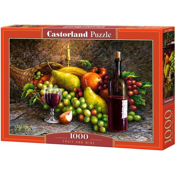 Castorland puzzla 1000 Pcs Fruit and Wine 104604 - ODDO igračke
