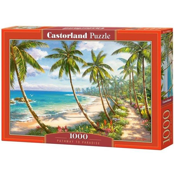 Castorland puzzla 1000 Pcs Pathway to Paradise 104666 - ODDO igračke