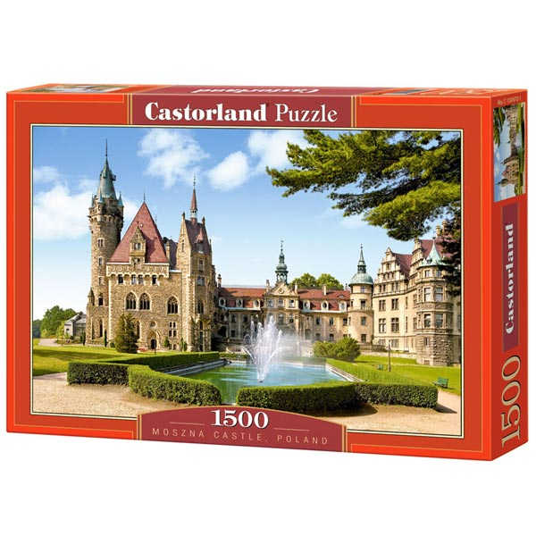 Castorland puzzla 1500 pcs Moszna Castle, Poland 150670 - ODDO igračke