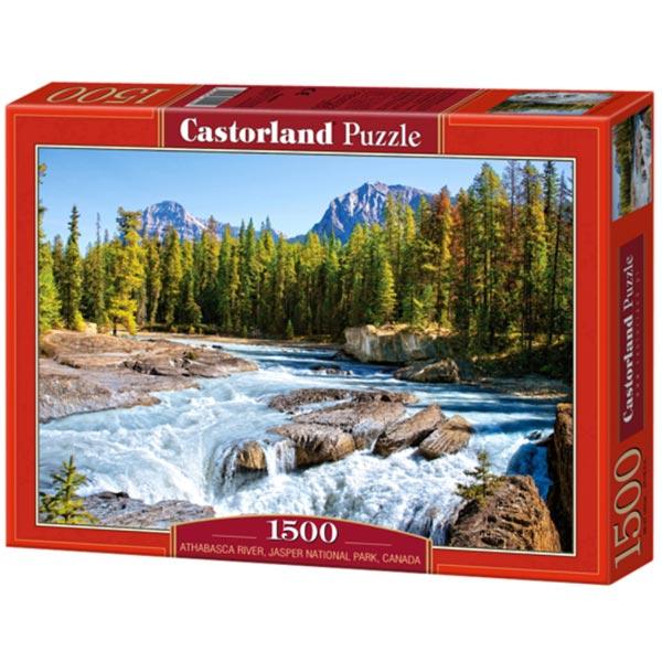 Castorland puzzla 1500 pcs Athabasca River, Jasper National Park 150762 - ODDO igračke