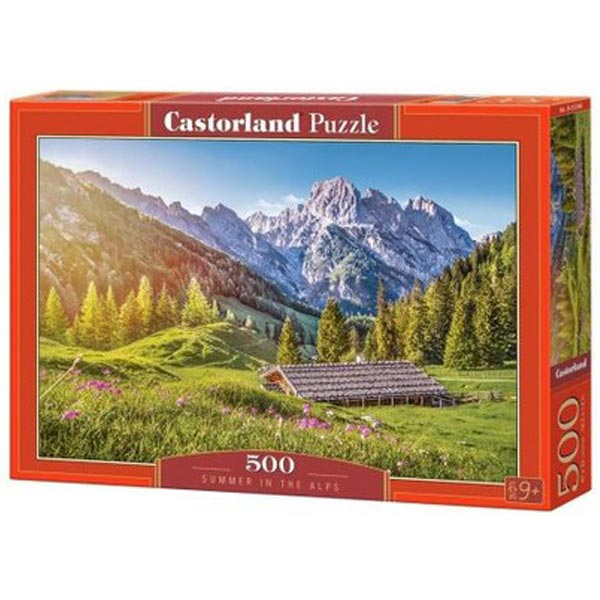 Castorland puzzla 500 Pcs Summer in the Alps 53360  - ODDO igračke
