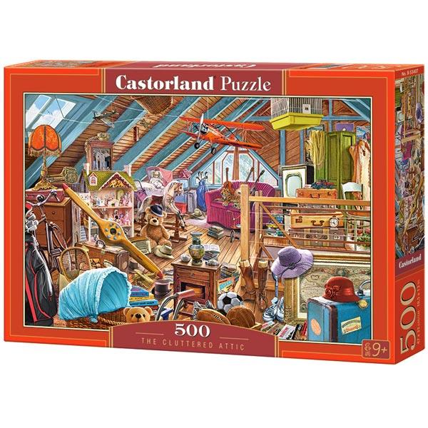 Castorland puzzla 500 Pcs The Cluttered Attic 53407 - ODDO igračke