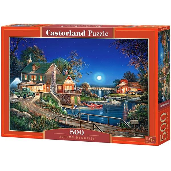 Castorland puzzla 500 Pcs Autumn Memories 53421 - ODDO igračke