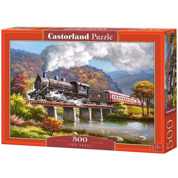 Castorland puzzla 500 Pcs Iron Horse 53452 - ODDO igračke