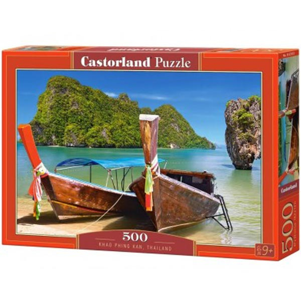 Castorland puzzla 500 Pcs Khao Phing Kan 53551 - ODDO igračke