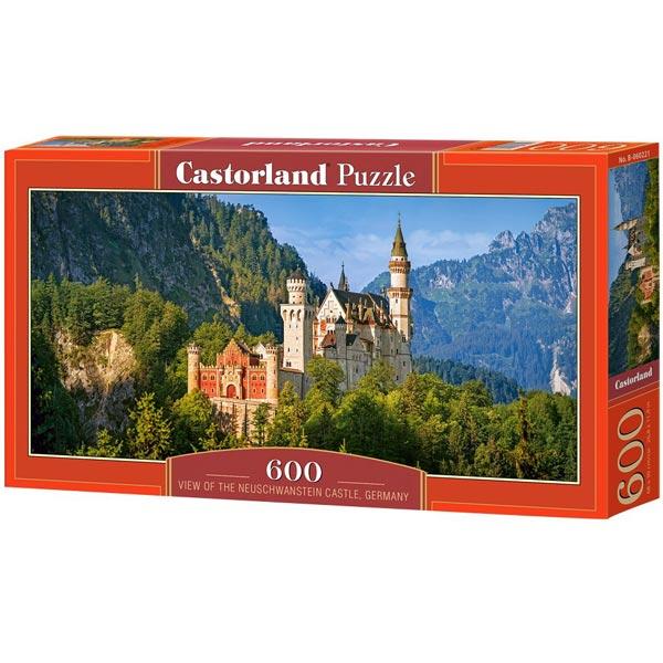 Castorland puzzla 600 Pcs Neuschwanstein Castle, Germany 060221 - ODDO igračke