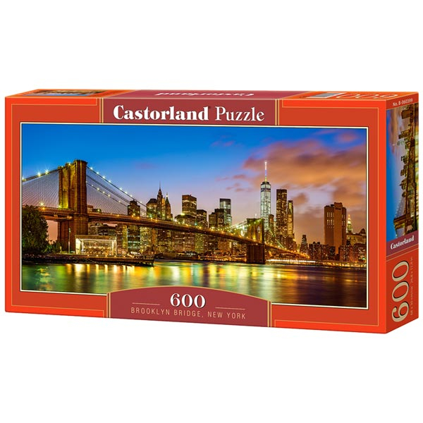 Castorland puzzla 600 Pcs Brooklyn Bridge, New York 060399 - ODDO igračke