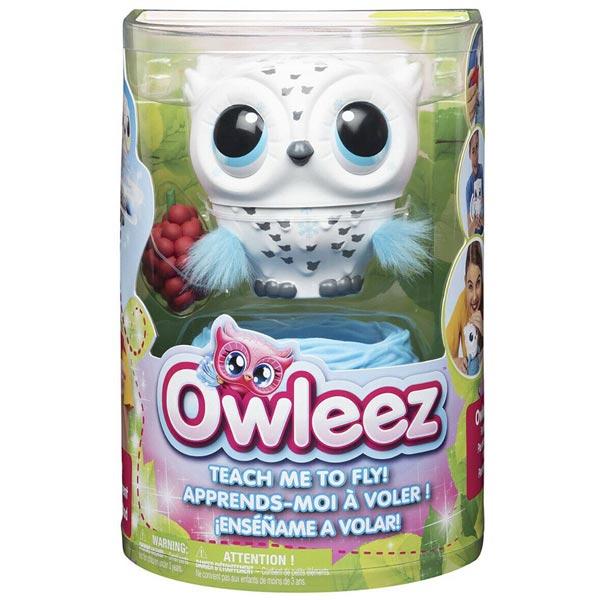 Owleez leteća Baby sova interaktivna sa zvukom i svetlom SN6046148  - ODDO igračke