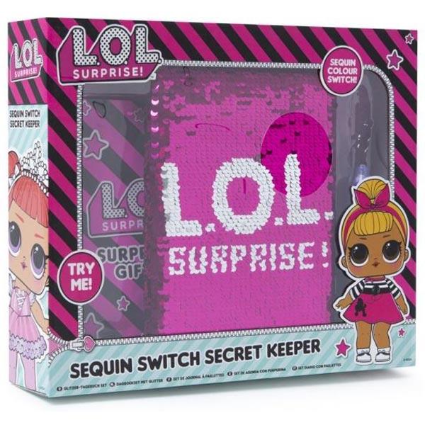 LOL Tajni dnevnik set Suprise Glitter On 42-0083 - ODDO igračke