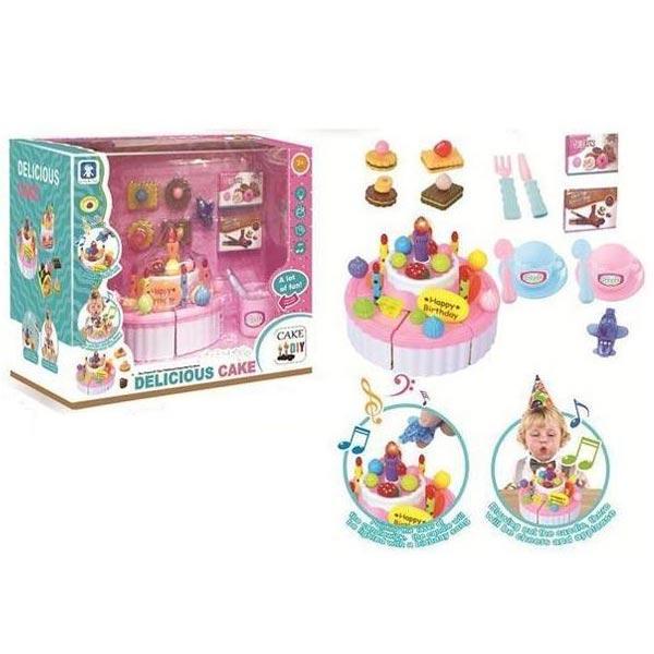 Rodjendanska torta set za proslavu rodjendana B/O 31x20x27cm MX0164519 - ODDO igračke